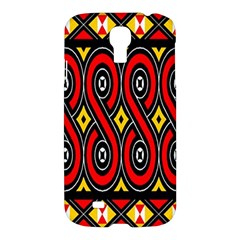 Toraja Traditional Art Pattern Samsung Galaxy S4 I9500/i9505 Hardshell Case