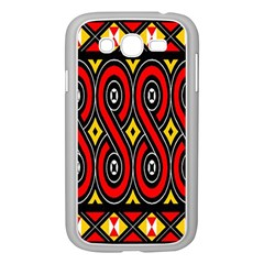 Toraja Traditional Art Pattern Samsung Galaxy Grand Duos I9082 Case (white)