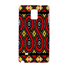 Toraja Traditional Art Pattern Samsung Galaxy Note 4 Hardshell Case