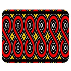 Toraja Traditional Art Pattern Double Sided Flano Blanket (medium)