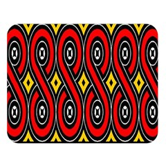 Toraja Traditional Art Pattern Double Sided Flano Blanket (large)