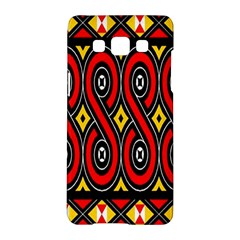 Toraja Traditional Art Pattern Samsung Galaxy A5 Hardshell Case
