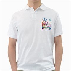 Butterfly Vector Art Golf Shirts