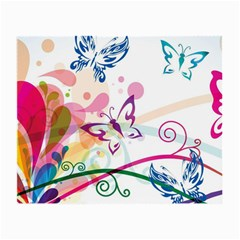Butterfly Vector Art Small Glasses Cloth (2 Side)