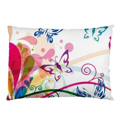 Butterfly Vector Art Pillow Case