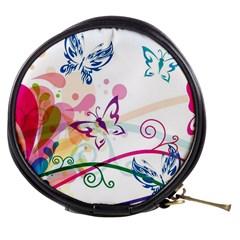 Butterfly Vector Art Mini Makeup Bags