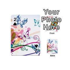 Butterfly Vector Art Playing Cards 54 (mini)