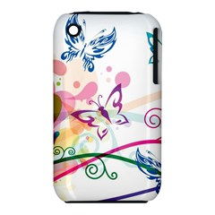 Butterfly Vector Art Iphone 3s/3gs