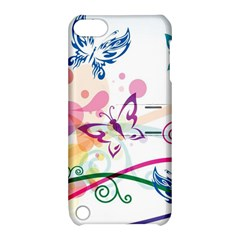 Butterfly Vector Art Apple Ipod Touch 5 Hardshell Case With Stand