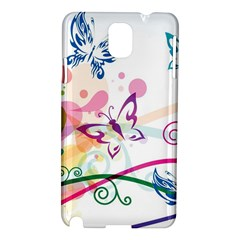 Butterfly Vector Art Samsung Galaxy Note 3 N9005 Hardshell Case