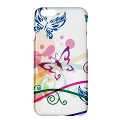 Butterfly Vector Art Apple Iphone 6 Plus/6s Plus Hardshell Case