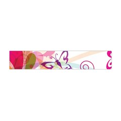 Butterfly Vector Art Flano Scarf (Mini)