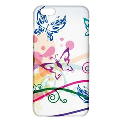 Butterfly Vector Art Iphone 6 Plus/6s Plus Tpu Case