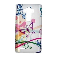 Butterfly Vector Art LG G4 Hardshell Case