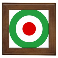 Iran Air Force Roundel Framed Tiles