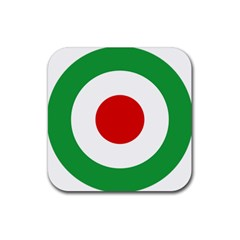 Iran Air Force Roundel Rubber Coaster (Square)
