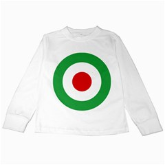 Iran Air Force Roundel Kids Long Sleeve T-Shirts