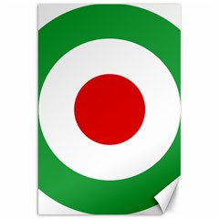 Iran Air Force Roundel Canvas 20  x 30