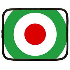 Iran Air Force Roundel Netbook Case (Large)