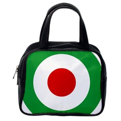 Iran Air Force Roundel Classic Handbags (One Side)