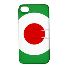 Iran Air Force Roundel Apple iPhone 4/4S Hardshell Case with Stand