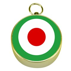 Iran Air Force Roundel Gold Compasses