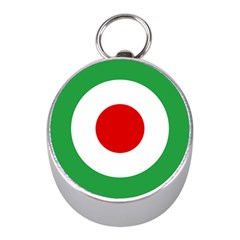 Iran Air Force Roundel Mini Silver Compasses