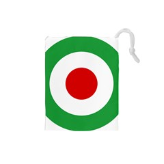 Iran Air Force Roundel Drawstring Pouches (Small)