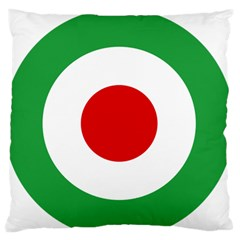 Iran Air Force Roundel Standard Flano Cushion Case (One Side)