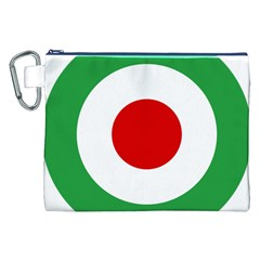 Iran Air Force Roundel Canvas Cosmetic Bag (XXL)