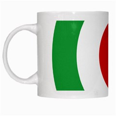Iran Air Force Roundel White Mugs