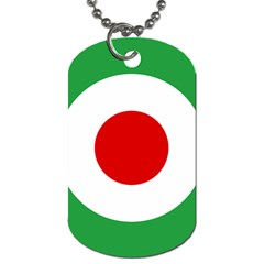 Iran Air Force Roundel Dog Tag (Two Sides)