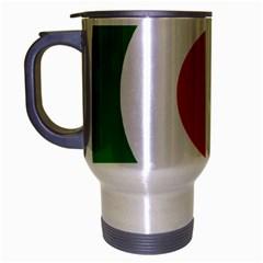 Iran Air Force Roundel Travel Mug (Silver Gray)