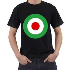 Iran Air Force Roundel Men s T-Shirt (Black)