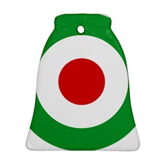 Iran Air Force Roundel Bell Ornament (Two Sides)