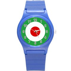 Iran Air Force Roundel Round Plastic Sport Watch (S)