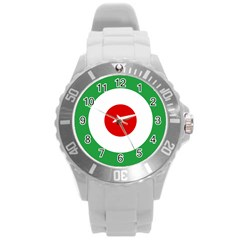 Iran Air Force Roundel Round Plastic Sport Watch (L)