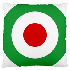 Iran Air Force Roundel Large Cushion Case (One Side)