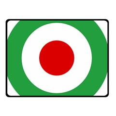 Iran Air Force Roundel Double Sided Fleece Blanket (Small)