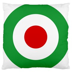 Iran Air Force Roundel Standard Flano Cushion Case (Two Sides)