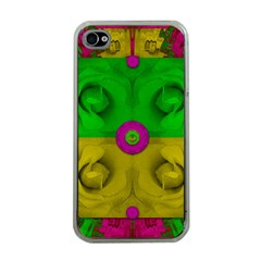 Roses Of Pure Love Apple iPhone 4 Case (Clear)