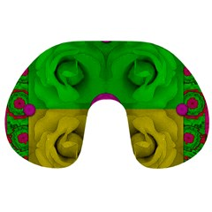 Roses Of Pure Love Travel Neck Pillows