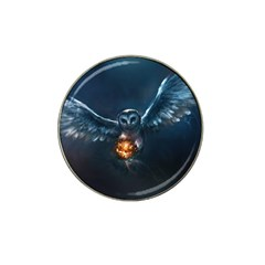 Owl And Fire Ball Hat Clip Ball Marker (10 pack)