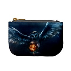 Owl And Fire Ball Mini Coin Purses