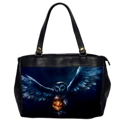 Owl And Fire Ball Office Handbags