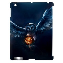 Owl And Fire Ball Apple Ipad 3/4 Hardshell Case (compatible With Smart Cover)
