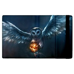 Owl And Fire Ball Apple iPad 3/4 Flip Case