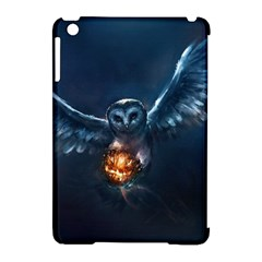 Owl And Fire Ball Apple Ipad Mini Hardshell Case (compatible With Smart Cover)