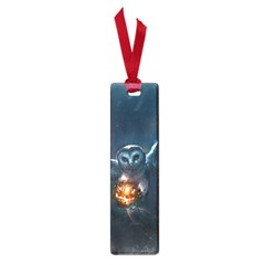 Owl And Fire Ball Small Book Marks