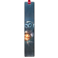 Owl And Fire Ball Large Book Marks